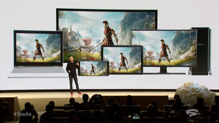 Google announces Stadia - new game streaming service