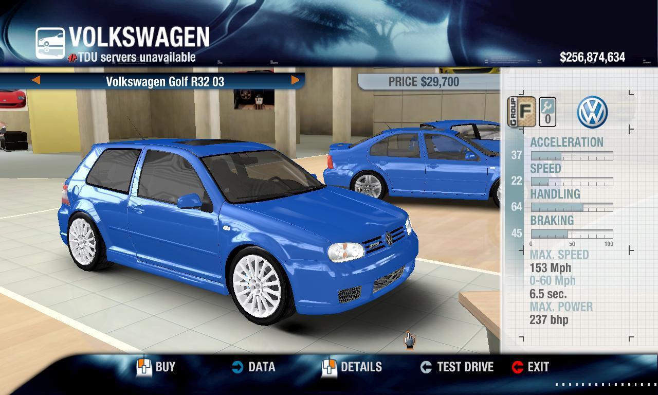 Combat Shotgun 2003 Volkswagen Golf R32 physics