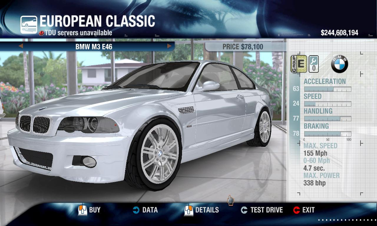 Rulezzz 2005 BMW M3 E46 physics + performance packs
