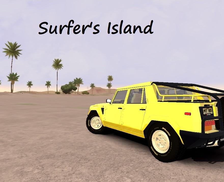 Surfer's Island BETA V2 (New Island mod)