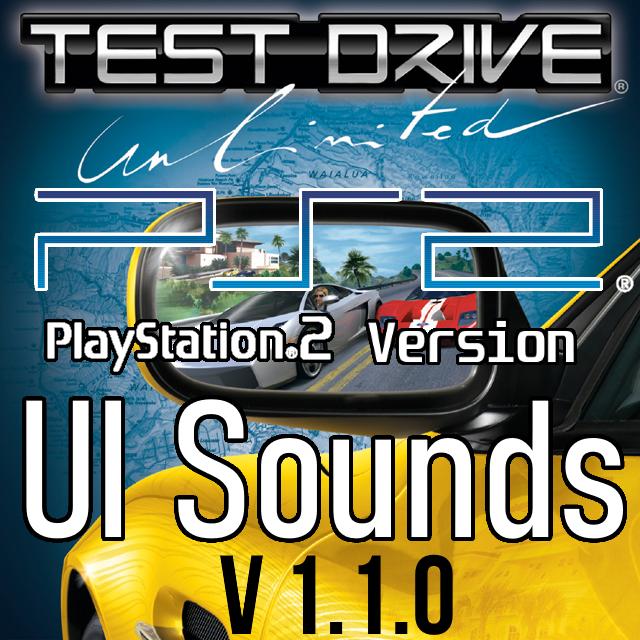 Test Drive Unlimited PS2 UI Sounds