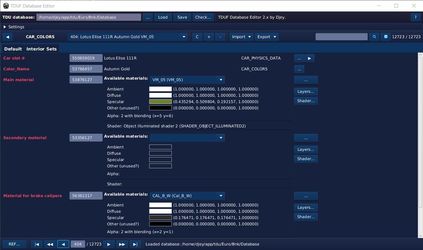 TDUF - Most advanced modding tools for TDU so far!