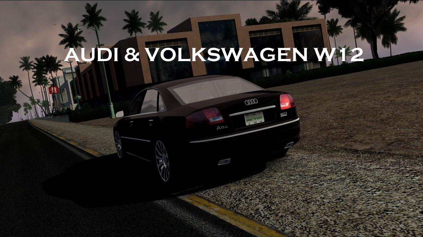 Audi & Volkswagen W12 Sound