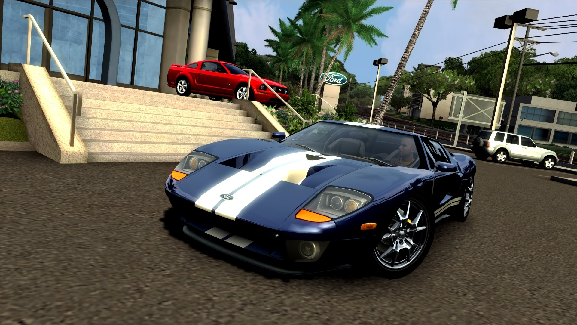 Ford GT sound (imported from TDU2)