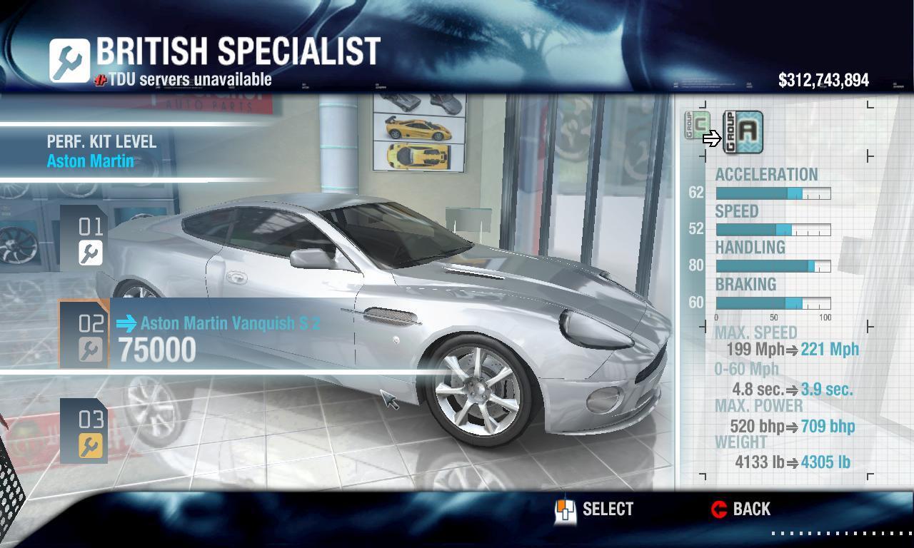 Eden Games 2004 Aston Martin Vanquish S Physics Performance Packs Car Customization Mods Turboduck Net