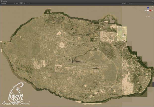 ATG Around The Ground Kish Island Simulation 3D Map By Dan for Video Game Simulator Software Kish Car Automobile Vehicle.jpg