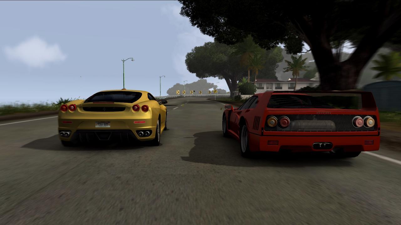 Duelling Ferrari's