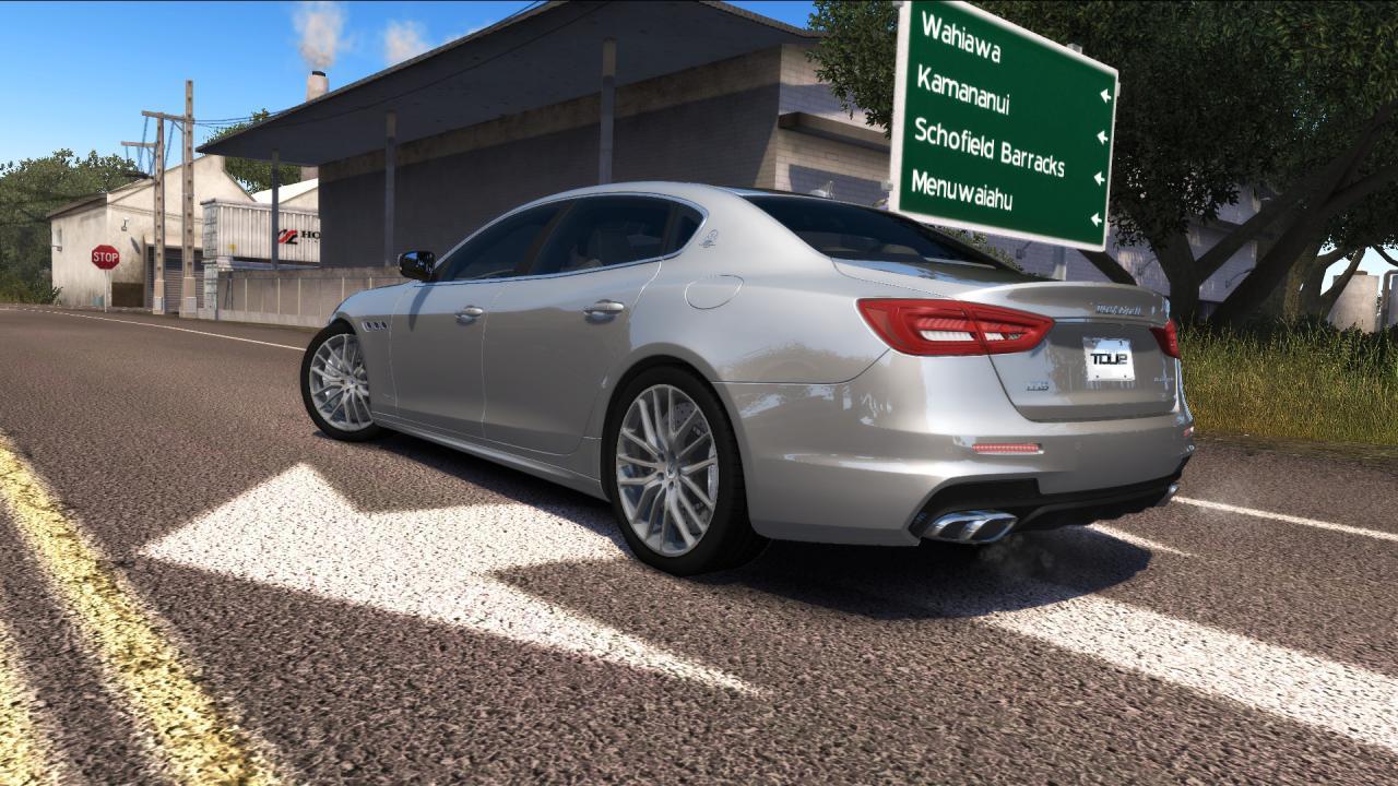 WIP: Maserati Quattroporte GTS